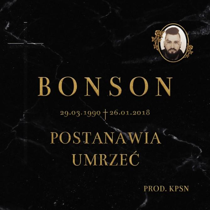 Bonson postanawia umrzeć