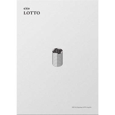 Lotto (3rd Repackage Album) KOREAN Ver CD+FOLDED POSTER+Photobooklet