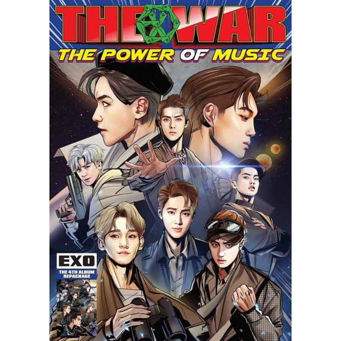 THE WAR Repackage: The Power of Music (Korean Version)