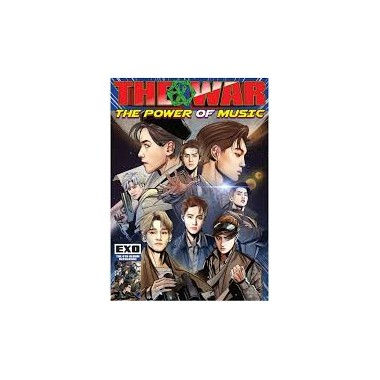 4th Repackage Korean Ver THE WAR The Power of Music Album CD+Comic+Photocard