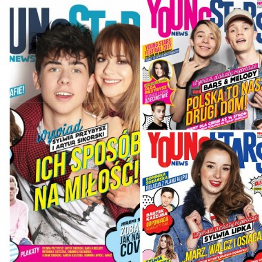 Zestaw Young Stars News (nr.1,2,3)