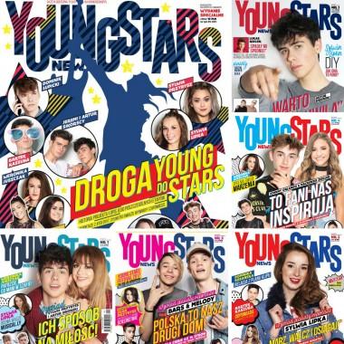 Zestaw Young Stars News (nr.1,2,3,4,5,ES)