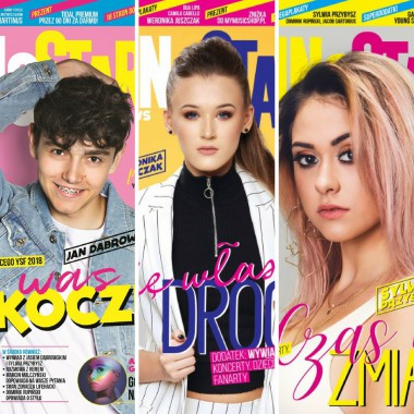 Zestaw Young Stars News (nr. 8,7,6)