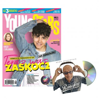 Zestaw Young Stars News nr 8 + Remofere