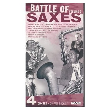 Battle of Saxes vol. 2