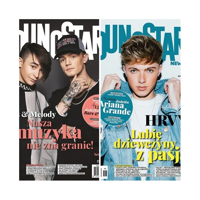 Zestaw Young Stars News (nr. 17, 18)