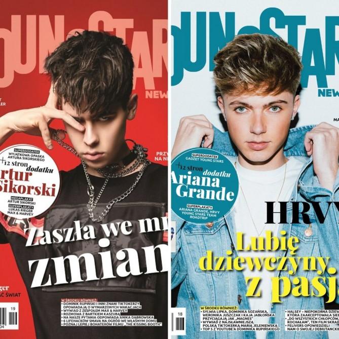 Zestaw Young Stars News (nr. 18, 19)