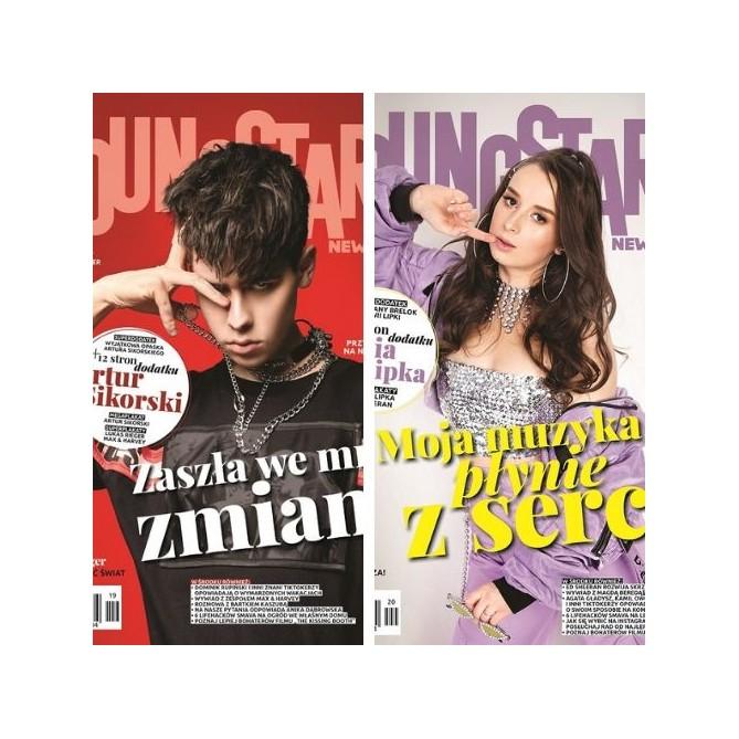 Zestaw Young Stars News (nr. 19, 20)