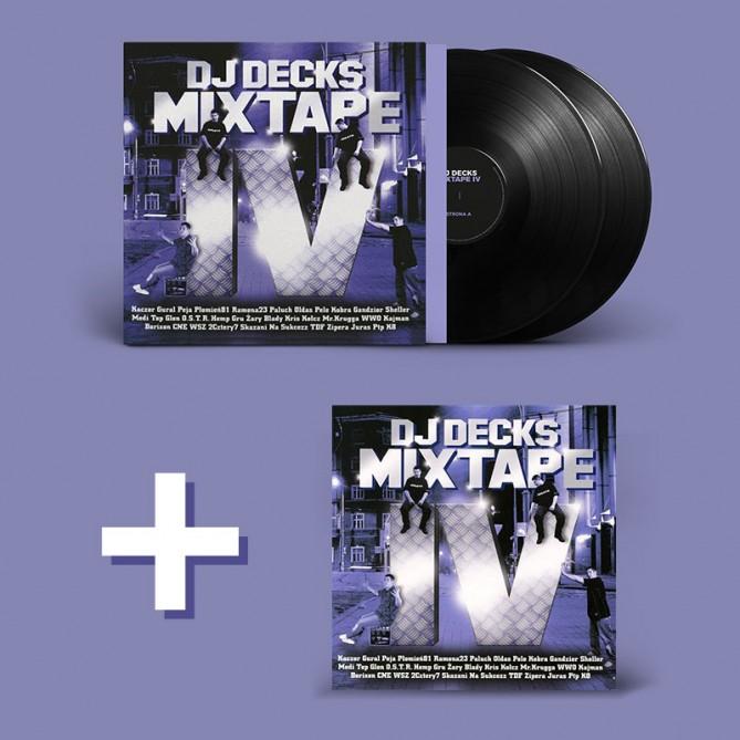 Pakiet Mixtape 4 (CD + VINYL)