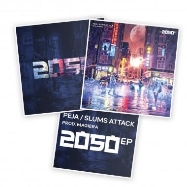2050 EP (prod. Magiera) PACK szara